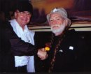 Willie Nelson and Billy James