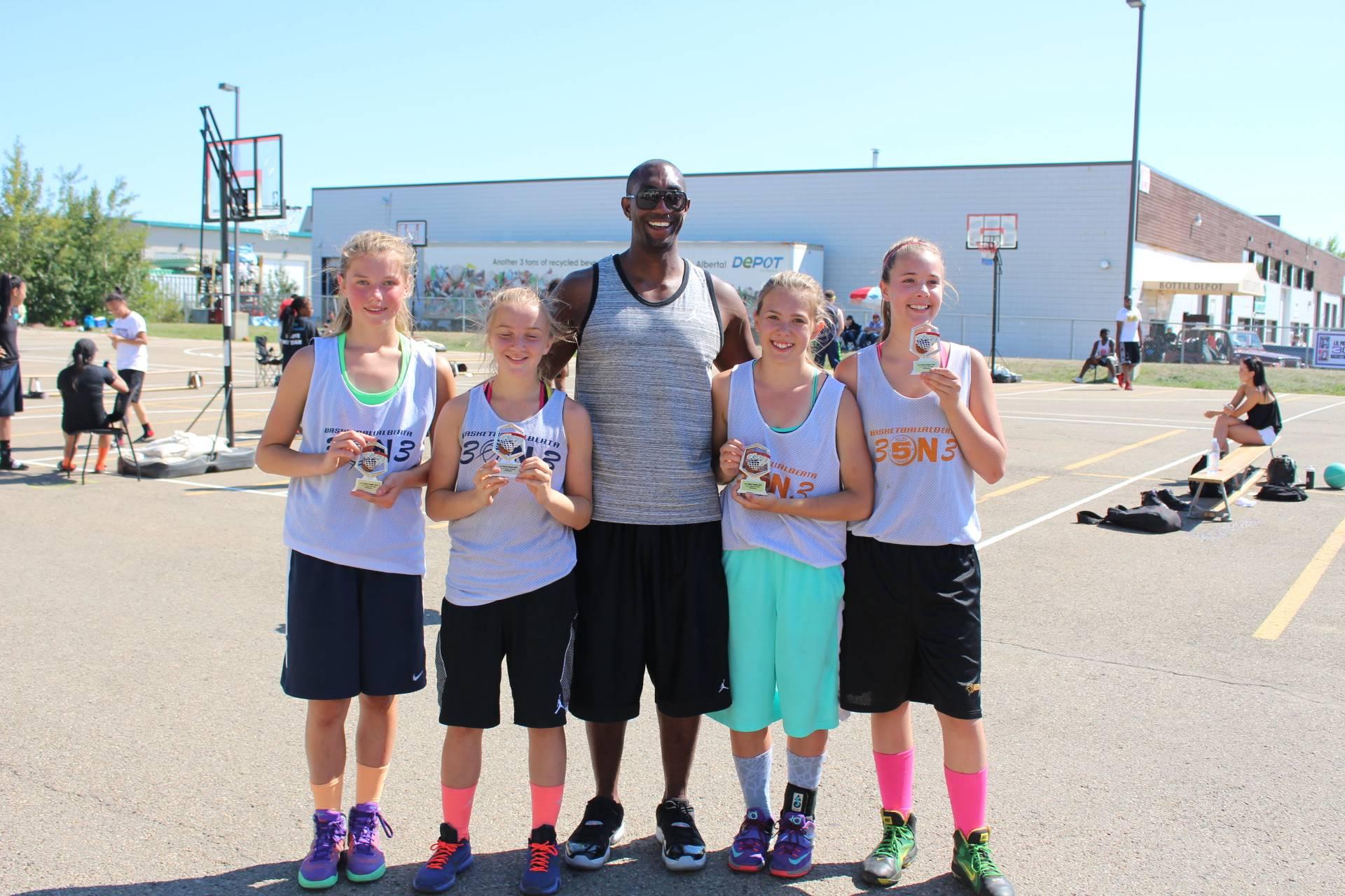 13-15yrs Old Girls Champions: Triple Threat