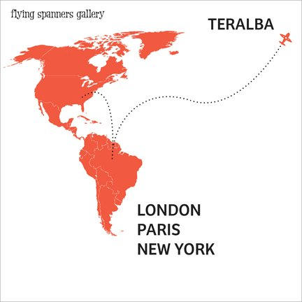 TERALBA - white         back view