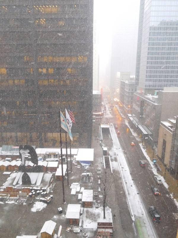 Buenos Morning Chicago!