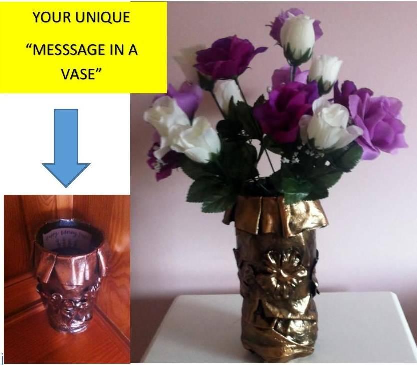 Birthday Keepsake Vase