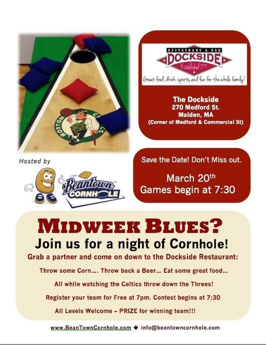 Cornhole Bar Contest