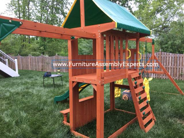 swing set installation service in brandywine MD