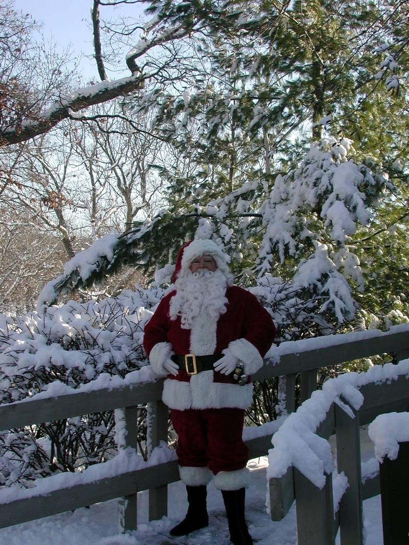 Santa at Abbey Springs Fontana