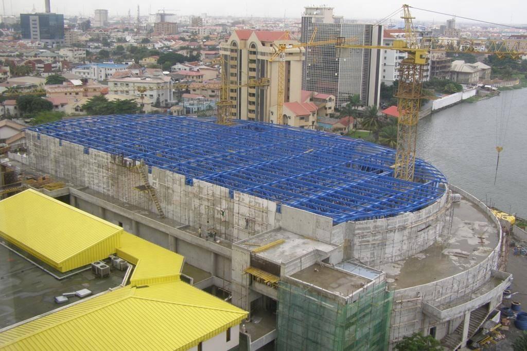 Steel Structure for Eko Hall in Lagos - NIGERIA