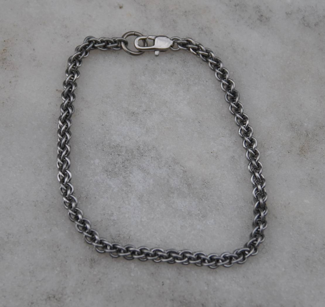 Steel Rope Chain Bracelet