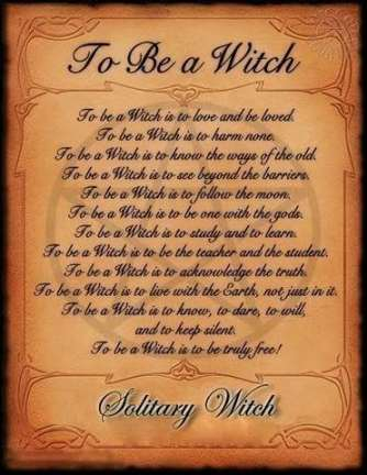 To Be a Witch