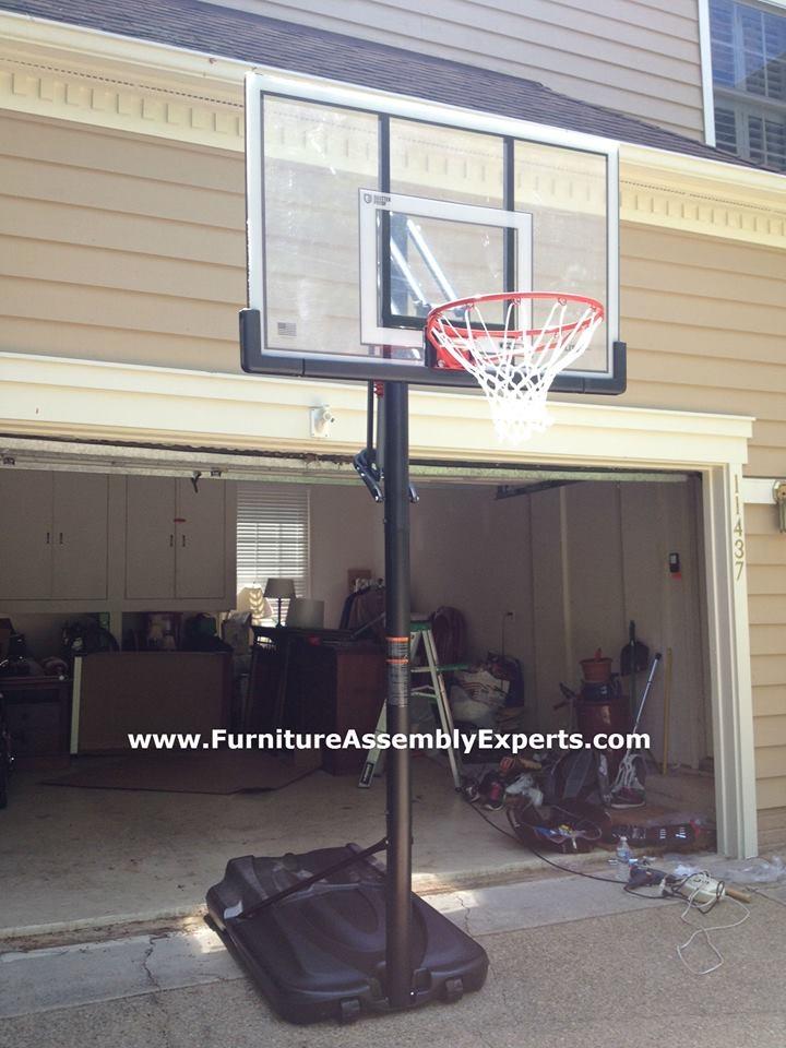 amazon portable basketball hoop assembly service in springfield VA