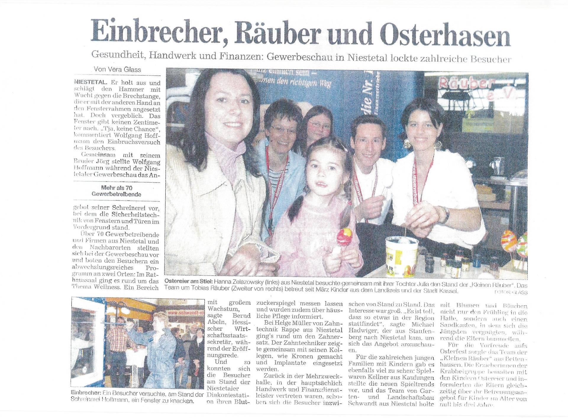 Besuch im Gewerbeverband Niestetal