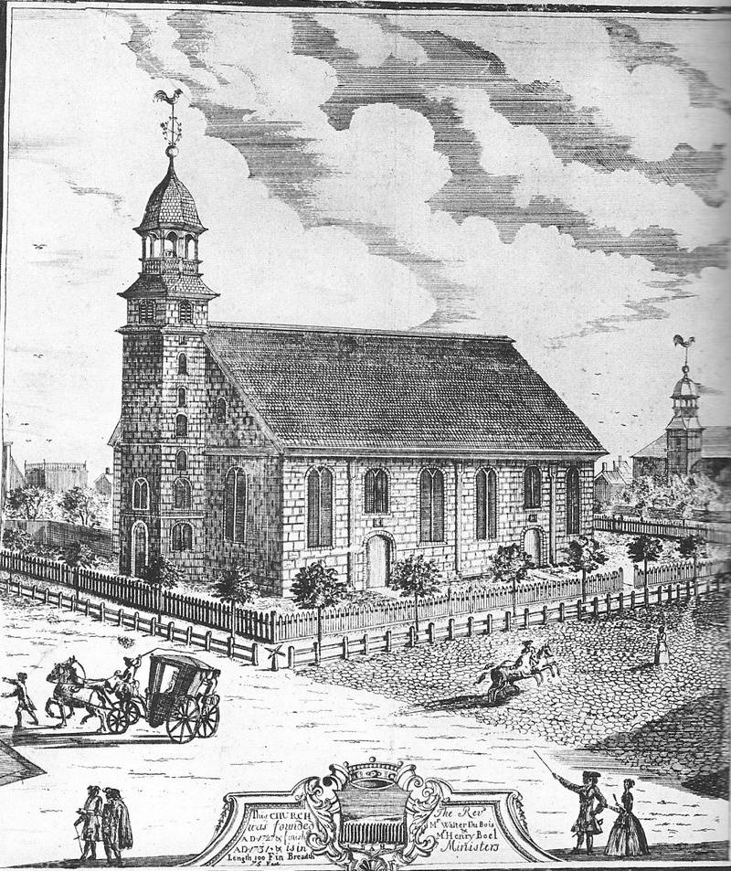 New York Dutch Church in 1731
