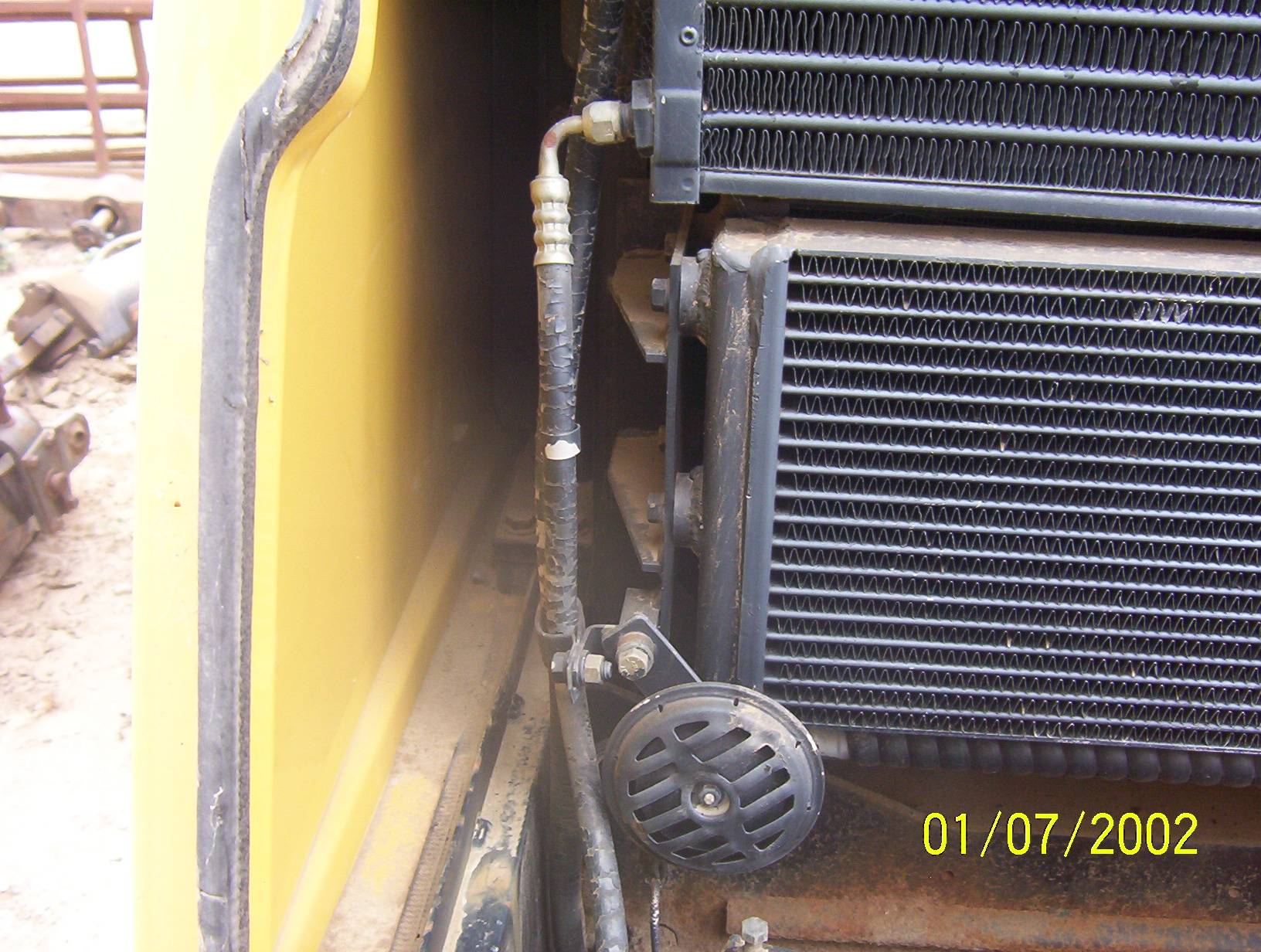 75A Hyd. Oil Cooler and Evaporator