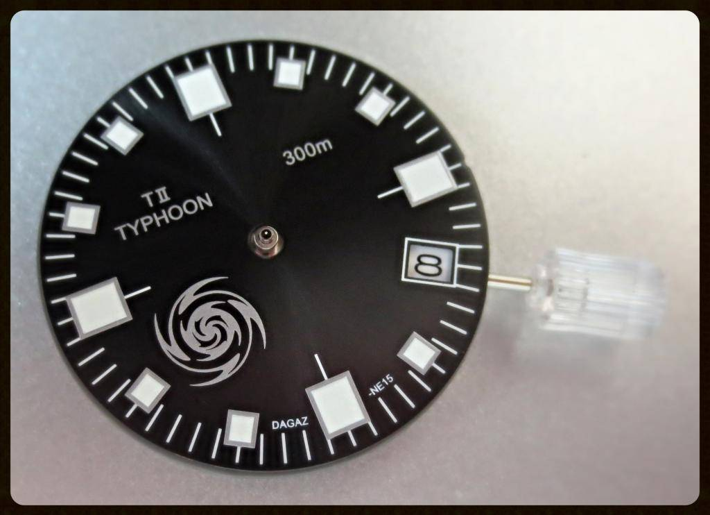TII-TYPHOON -- CHARCOAL SUNBURST SPECIAL EDITION DIAL