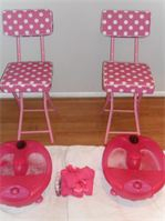 Pamper party foot spas