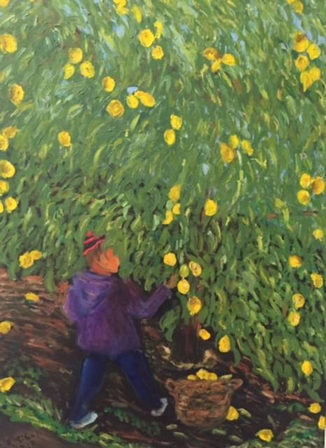Child with Lemon Tree