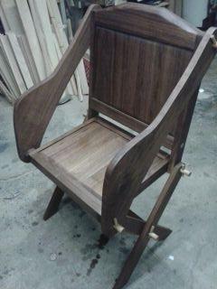 Walnut Glastonbury Chair