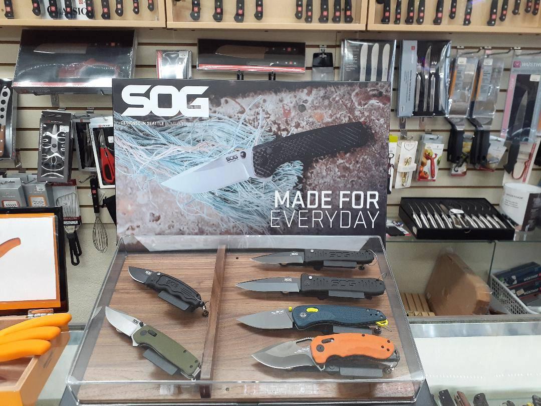 New SOG Knives 2021
