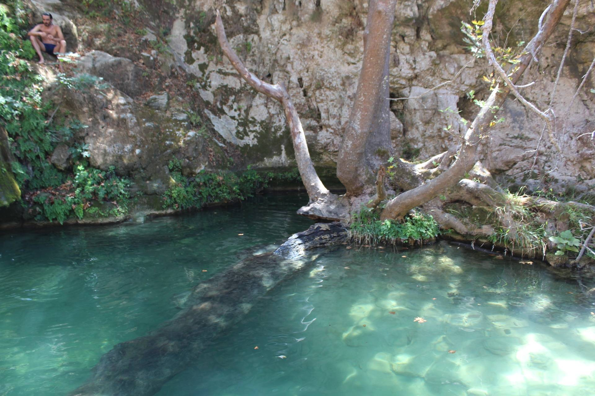 Waterfalls in Mylopotamos