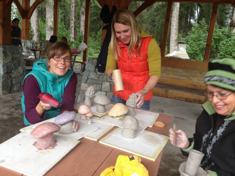 Mushroom Sculpture Workshop