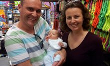 Happy Customers with Baby