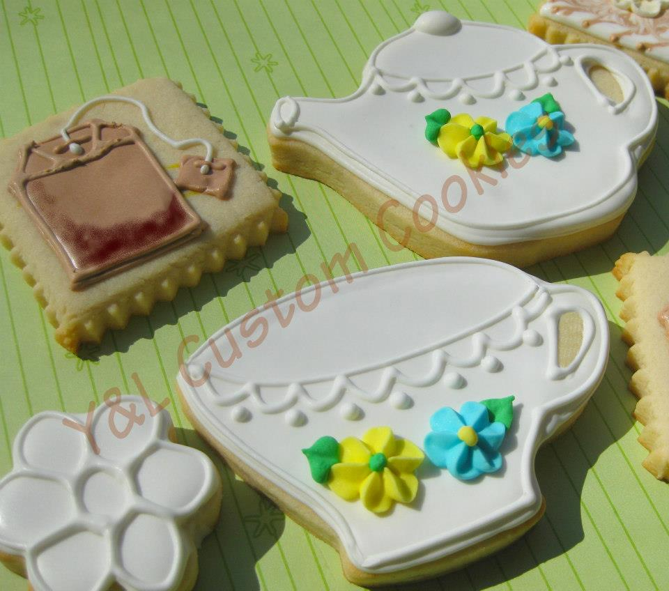 Tea Party/ Hostess Gift Cookies