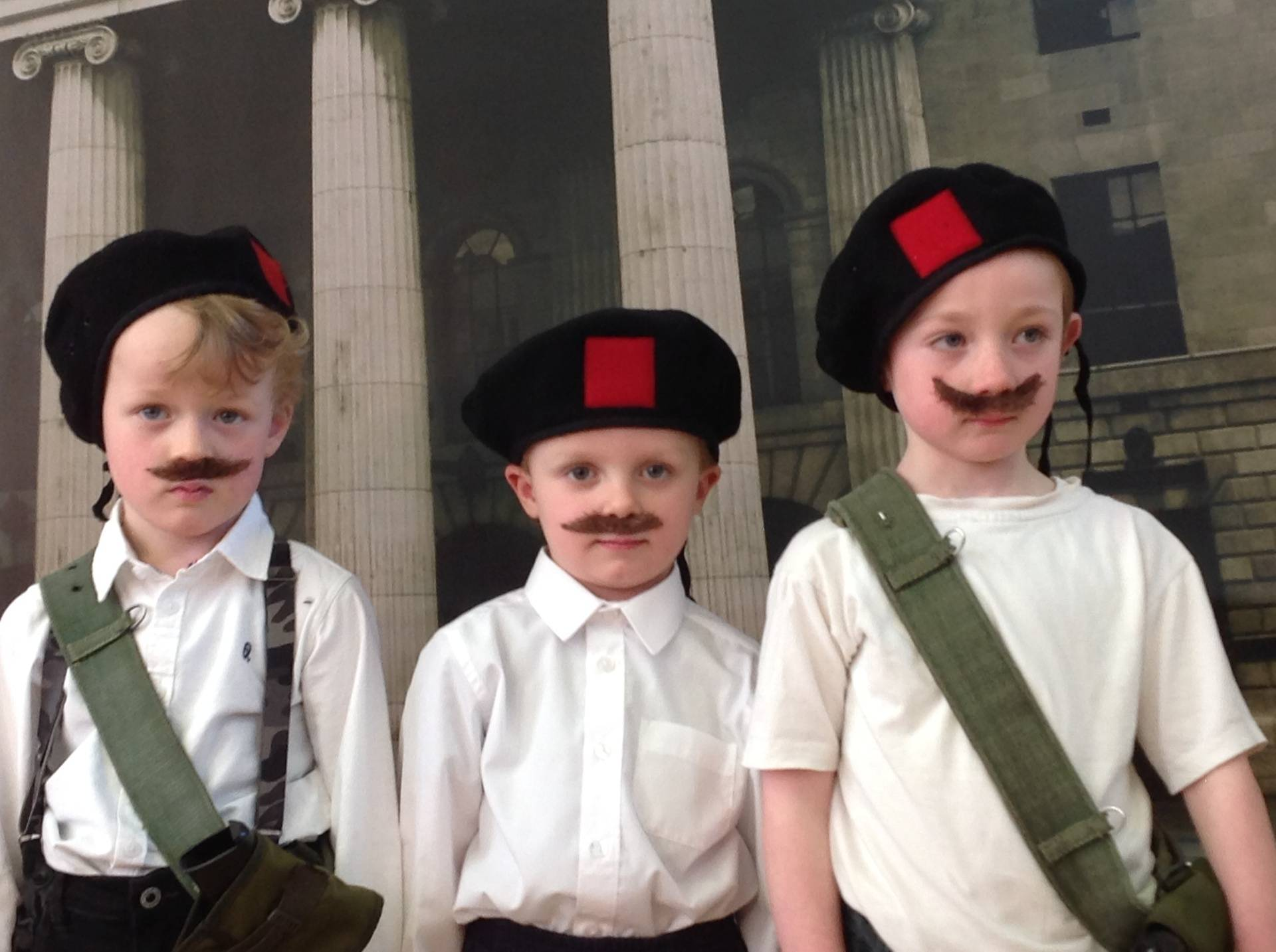 the Irish Volunteers!!!!