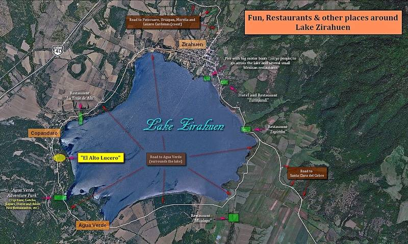Fun, Restaurants & Other  places around Lake Zirahuen