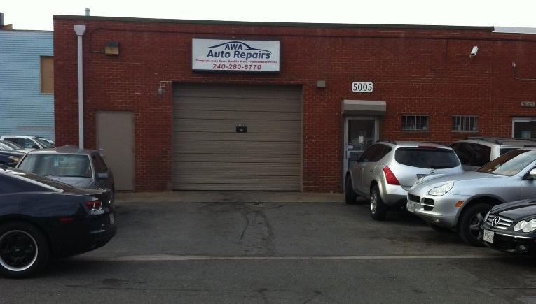 Awa Auto Repair Shop Location, 5005 college ave, College Park, MD, 20740, USA