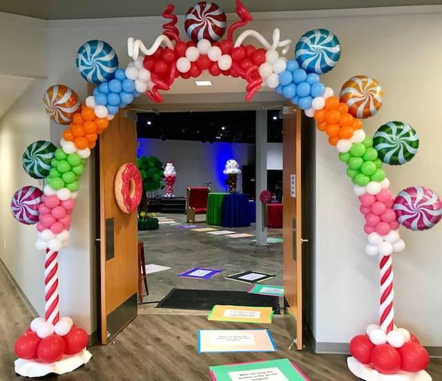 Balloon Arch - Candy Land Theme