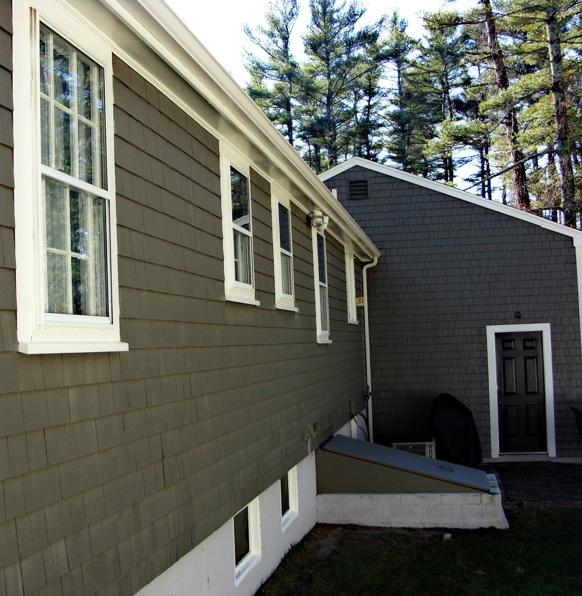 Angled Close-Up: Back of Home