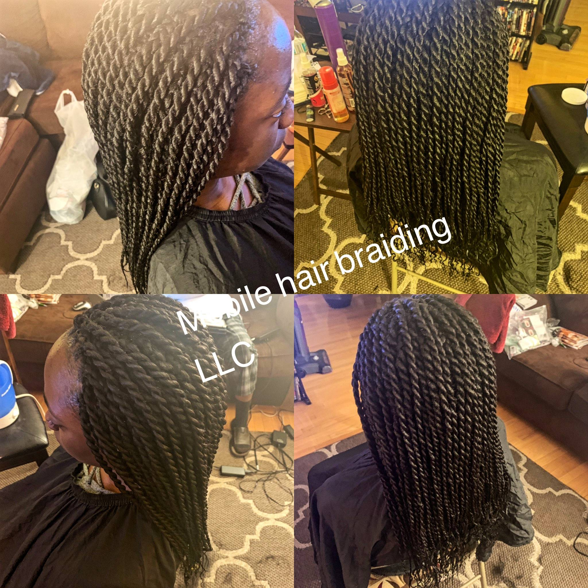 Senegalese Twist completed in district heights, MD.