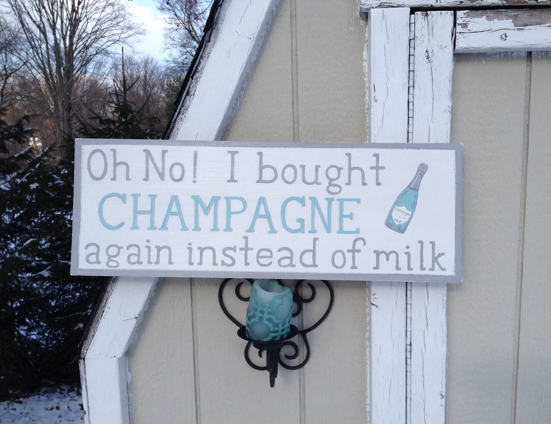 For the Love of Champagne!