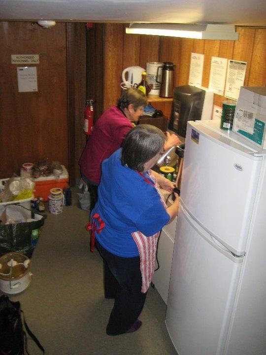 Kitchen personel