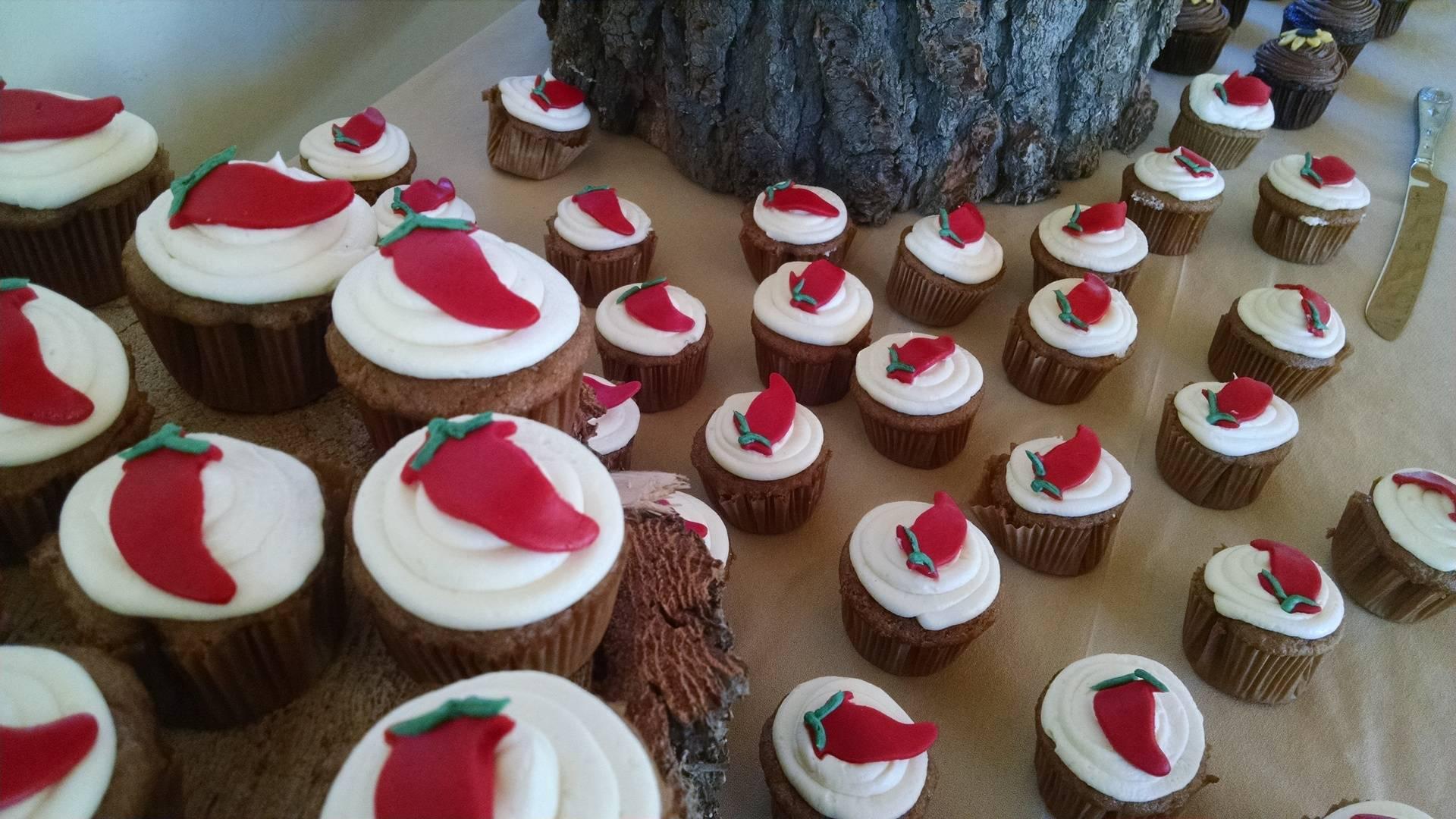 Red Chili Cupcakes