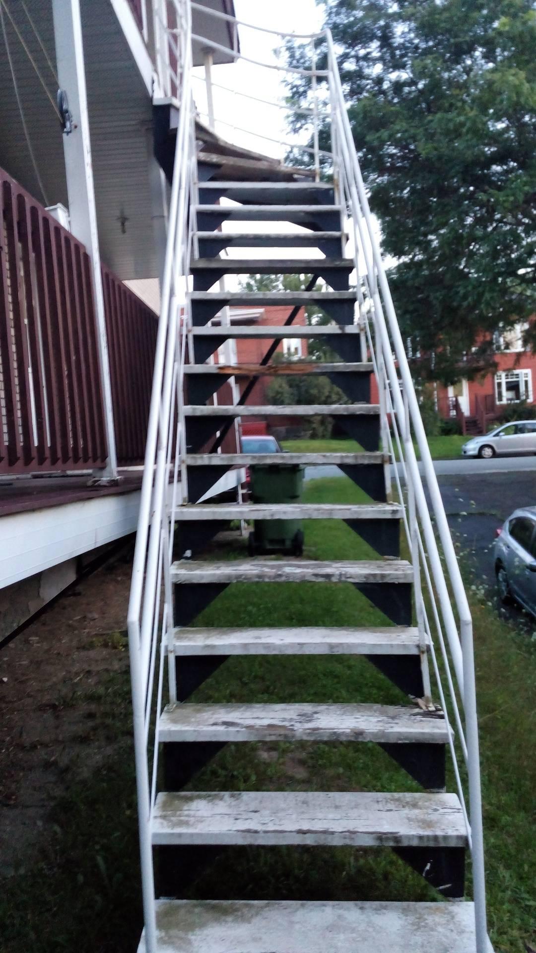 escalier a refaire