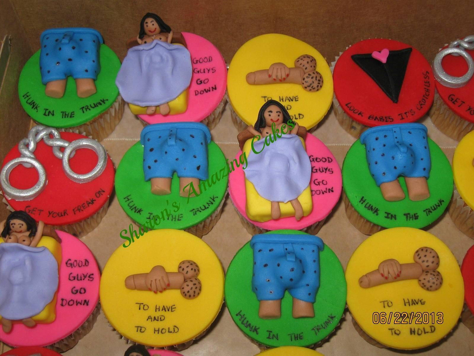 Naughtier Cupcakes