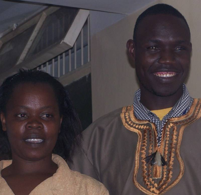 Pastor Peter and his wife Grace