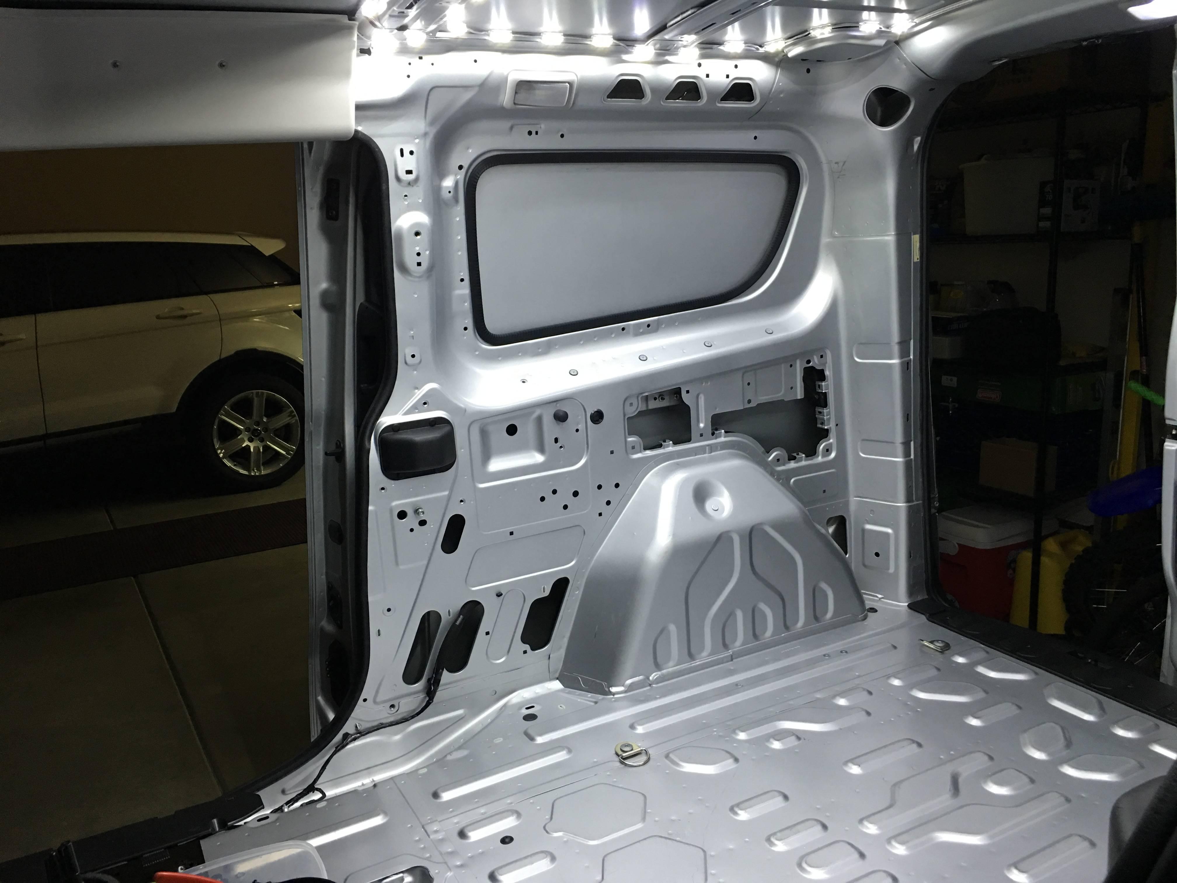 LED backup cargo lights