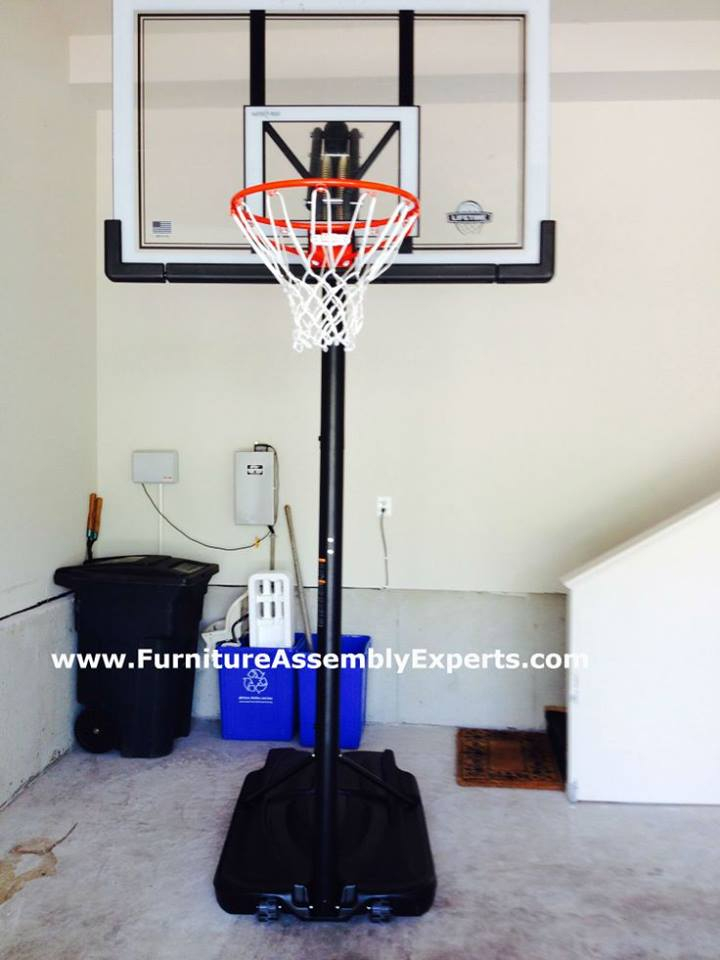amazon portable basketball hoop assembly service in alexandria VA