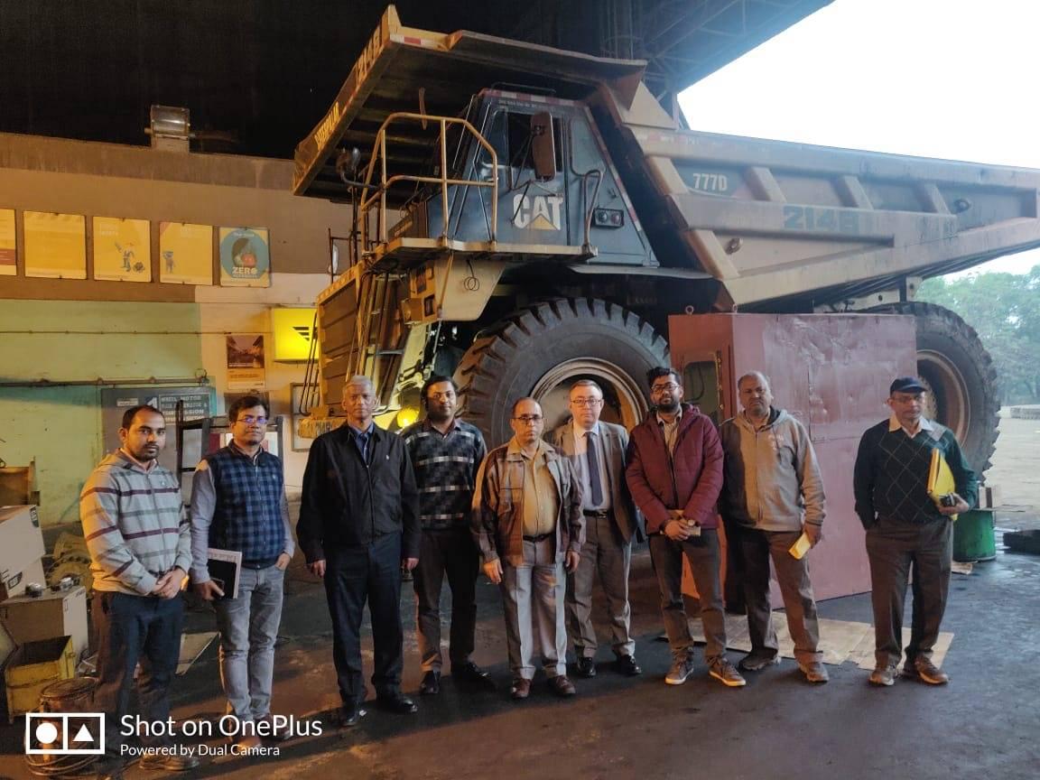 CBM on Mining Dumper