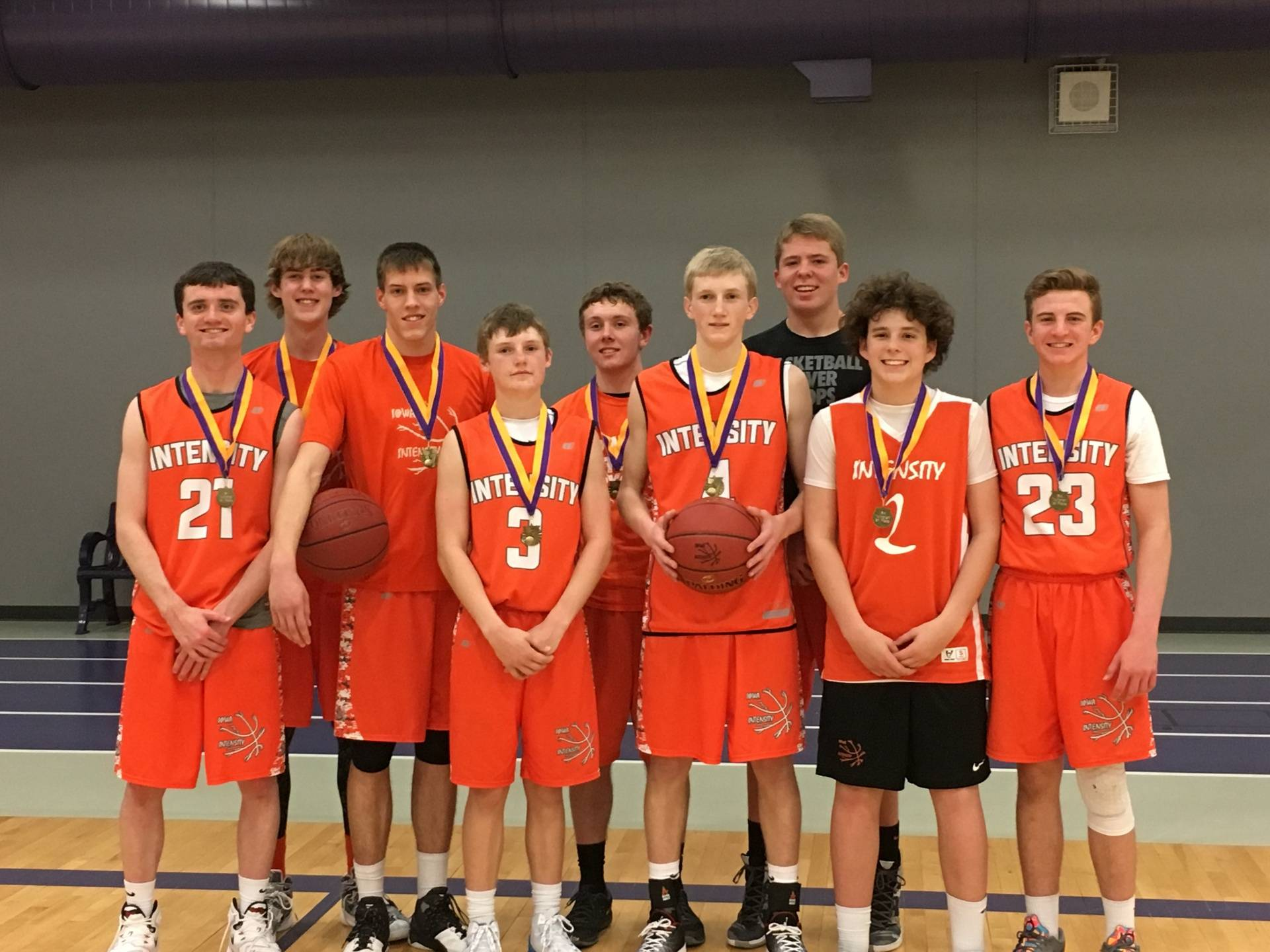 April 2016 Indianola MAYB 1st Place