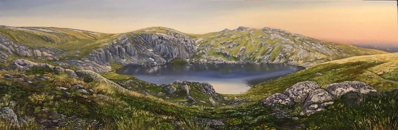 Blue Lake - Kosciuszko National Park