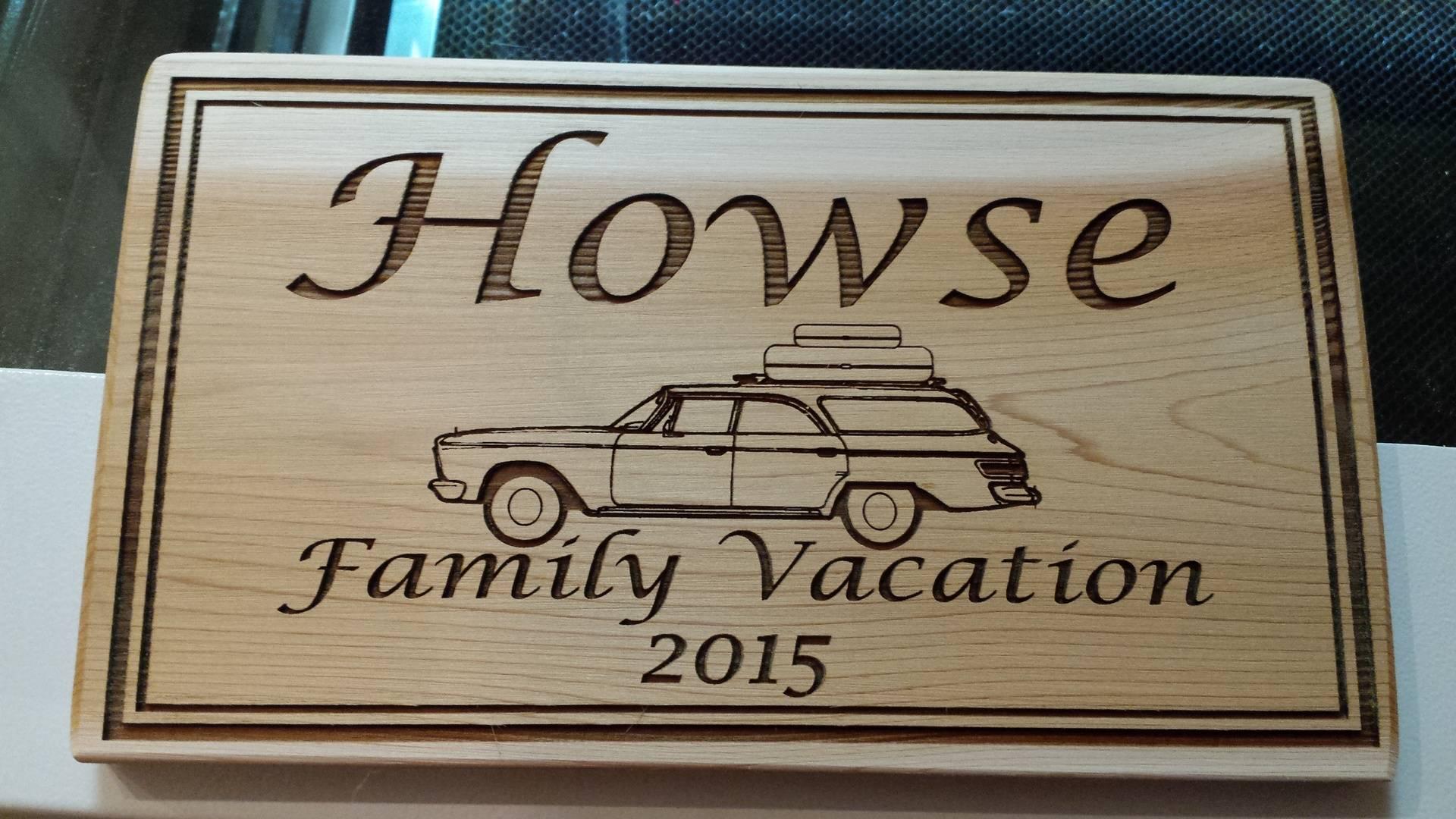 Family Vacation (Custom)