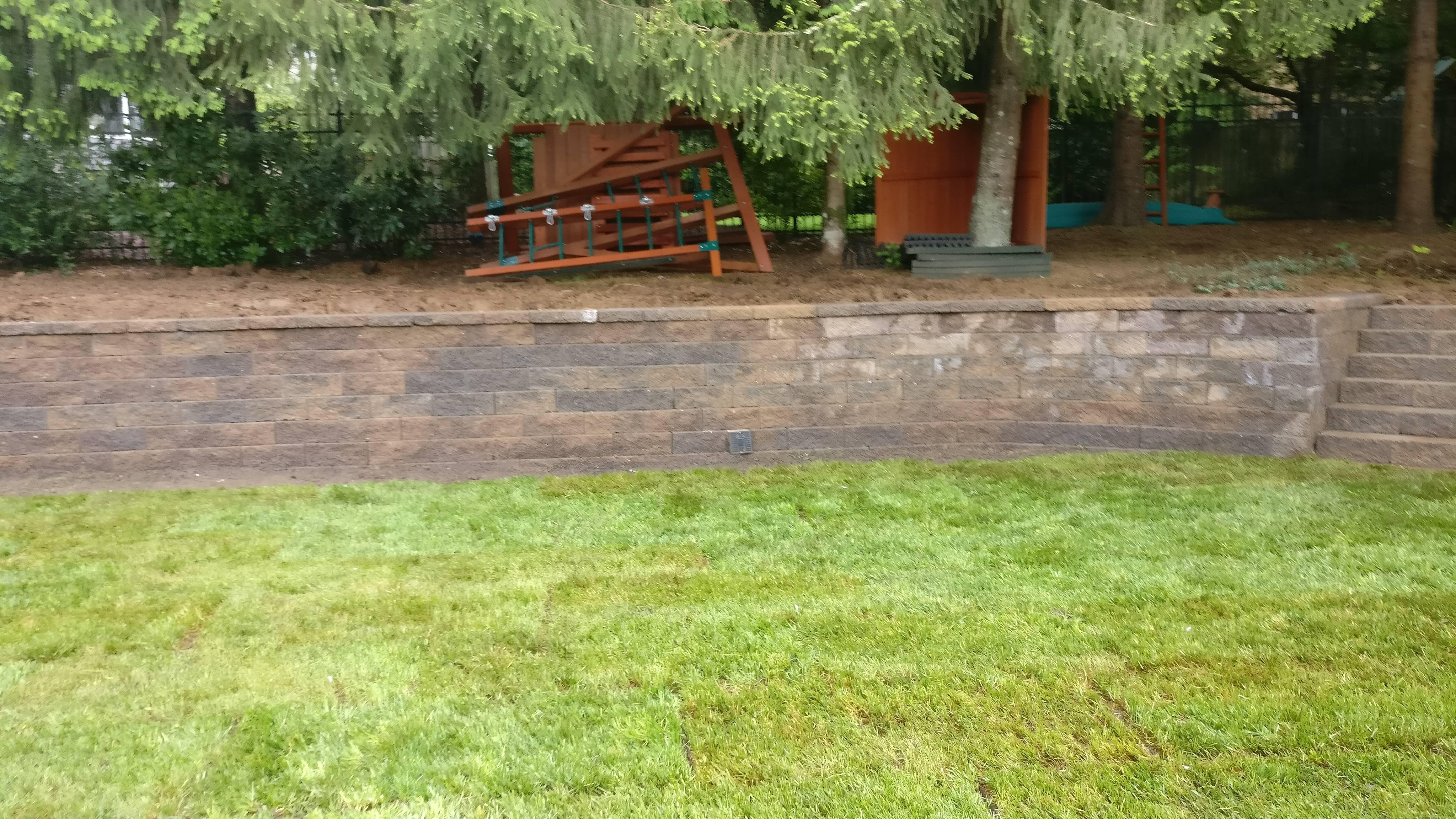 Retaining Wall Installation in Beaverton