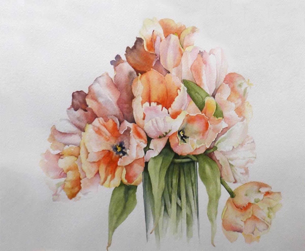 Floral- 3rd Place, Pat Barr