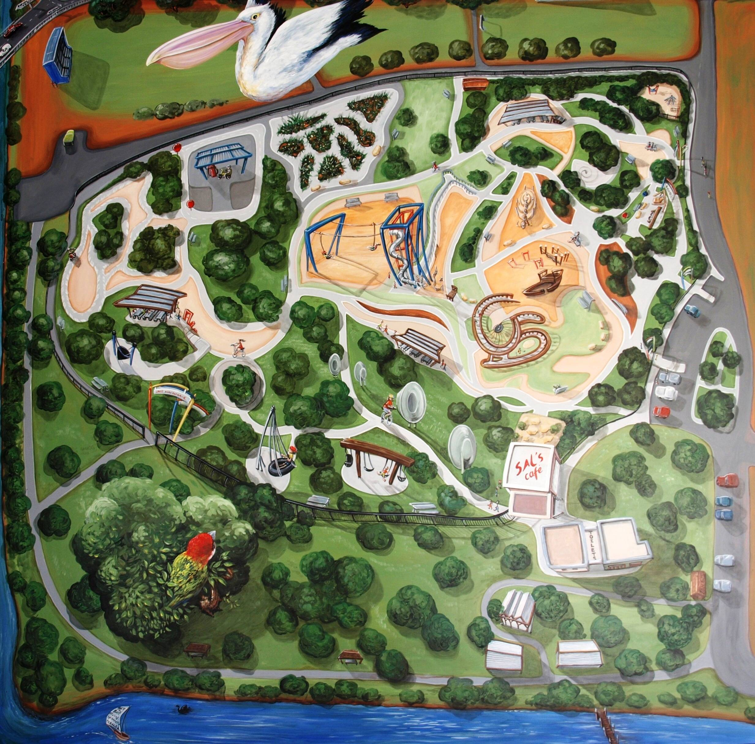 AERIAL   speer's point park