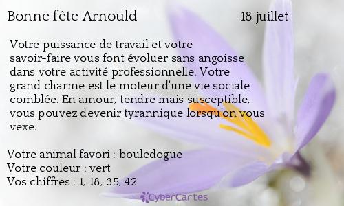 Arnoult Arnould