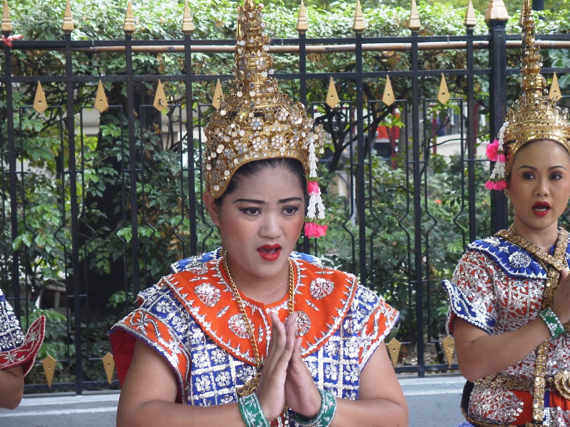 In Bangkot at Erawan Shrine