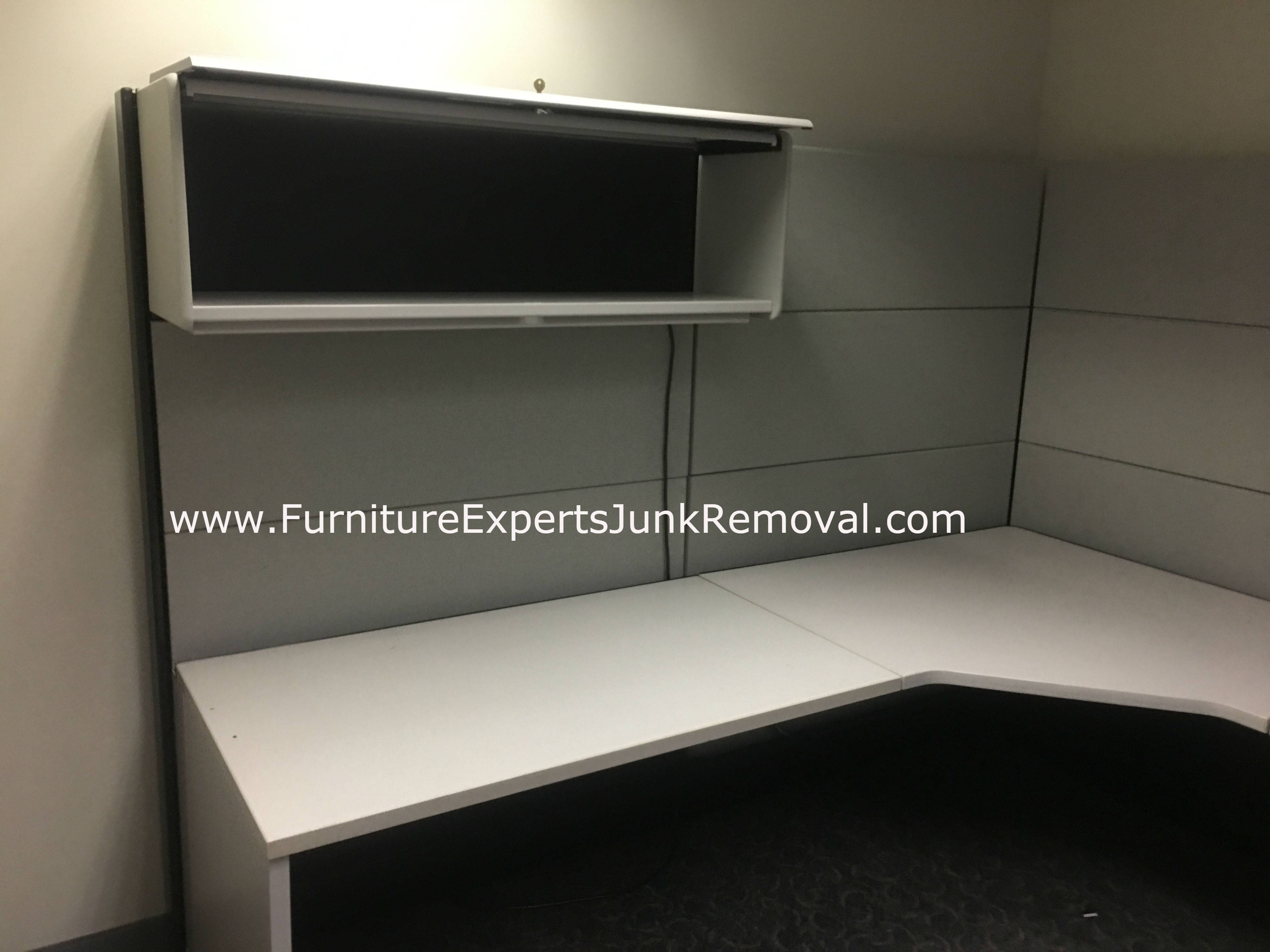 Junk office cubicle removal in bethesda MD