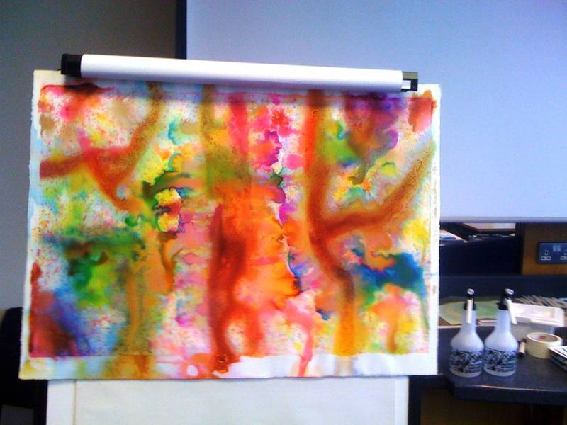 Group Energy Painting