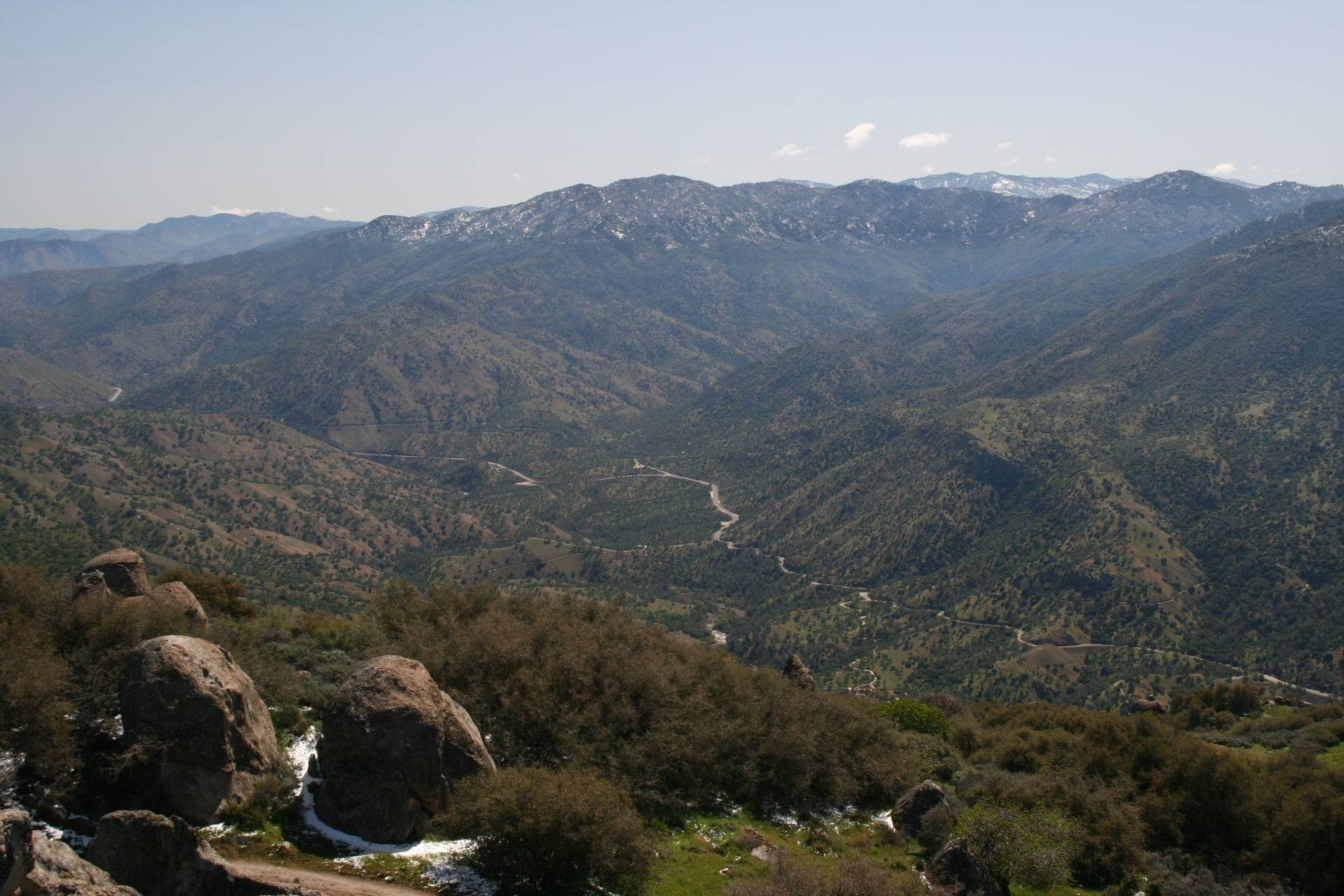 View of Kern Canyon